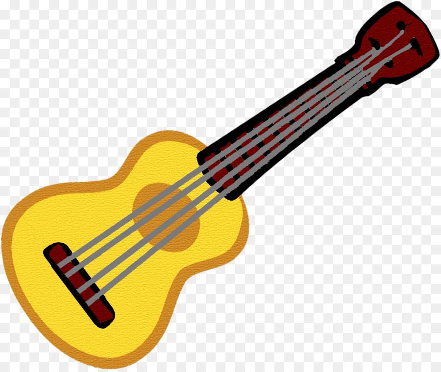 Cartoon line transparent clip. Clipart guitar ukelele