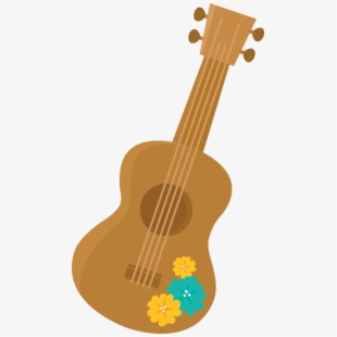 Ukulele transparent hawaiian . Clipart guitar ukelele