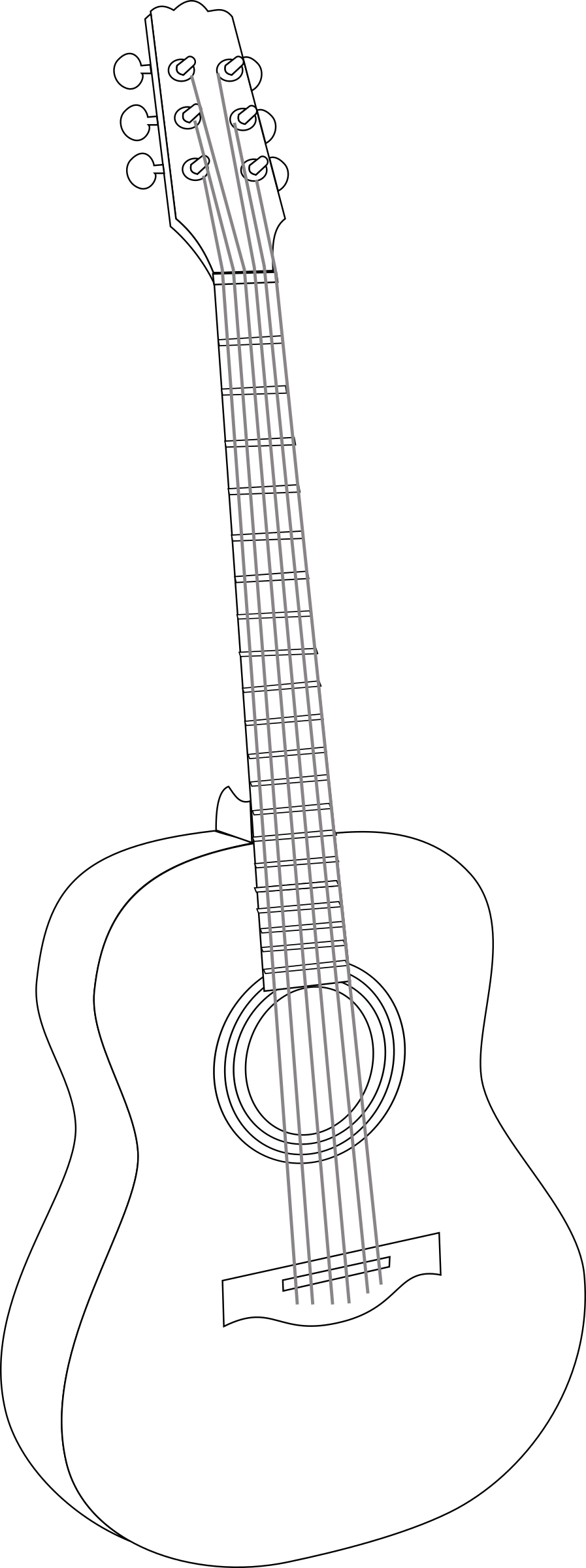 Big image png. White clipart guitar