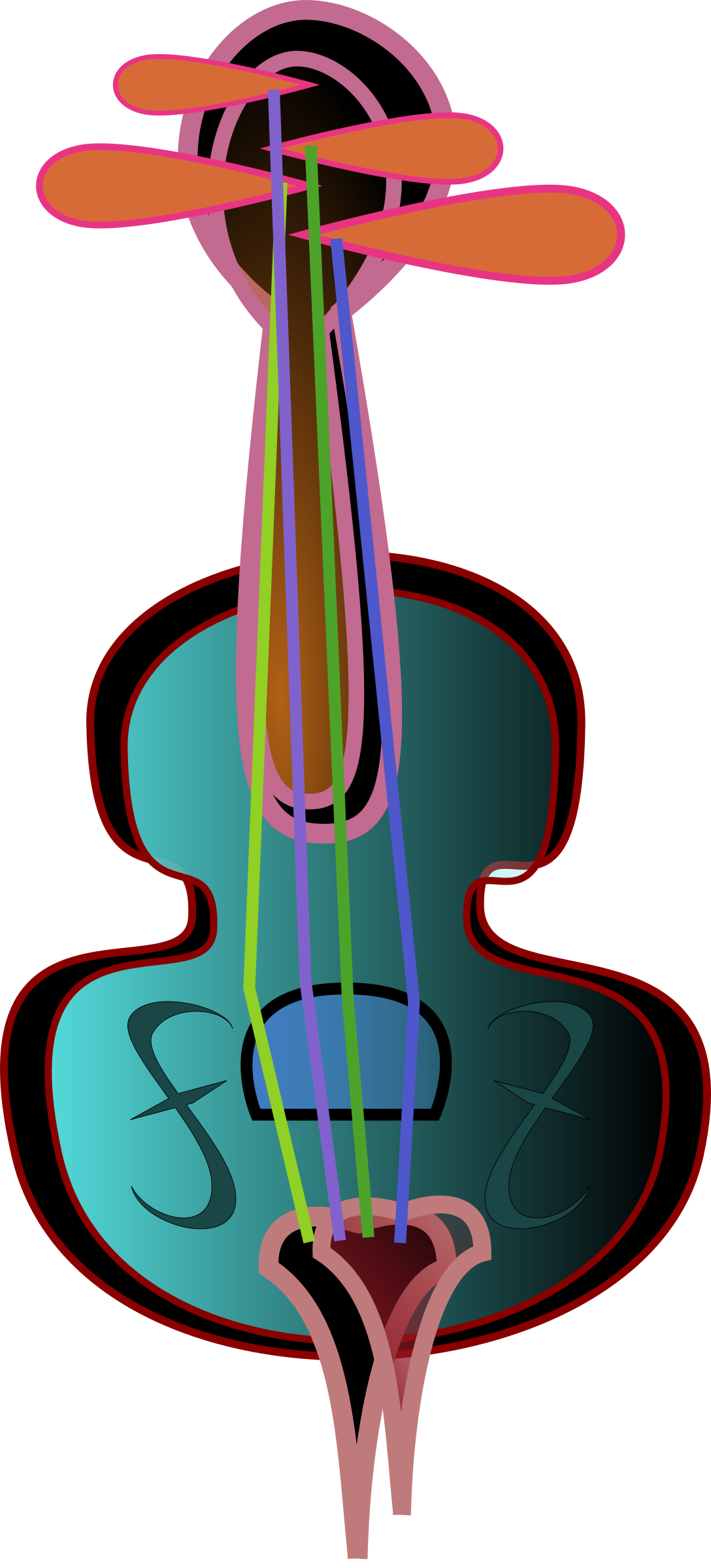 Purple clipart violin. Icons png free and