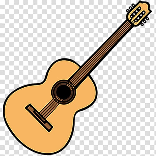 Clipart guitar wooden. Beige transparent background png