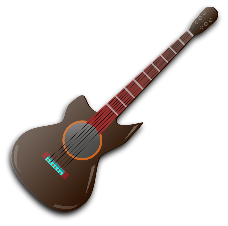 Free clip art by. Clipart guitar wooden