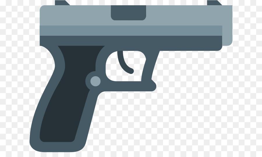 Clipart gun. Line logo transparent clip