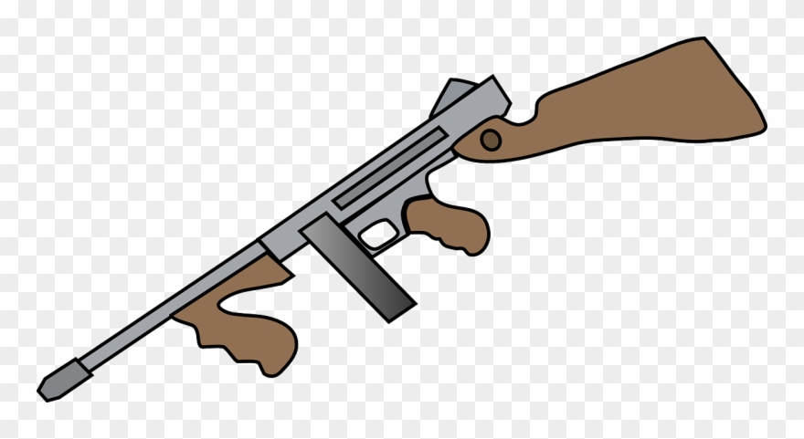 Tommy png download pinclipart. Clipart gun