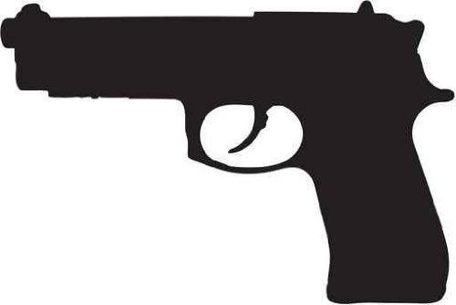 Amazon com mm semi. Clipart gun 9mm