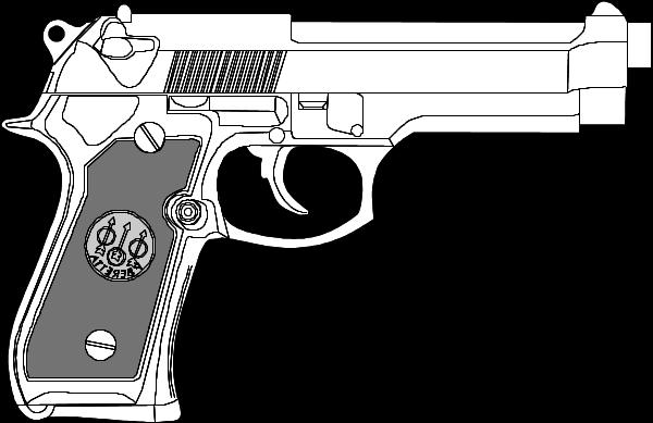 Clipart gun 9mm.  mm glock clip