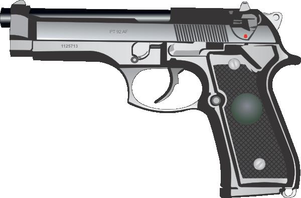 mm pistol clip. Clipart gun 9mm