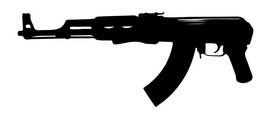 Gun clipart ak47. Ak png transparent