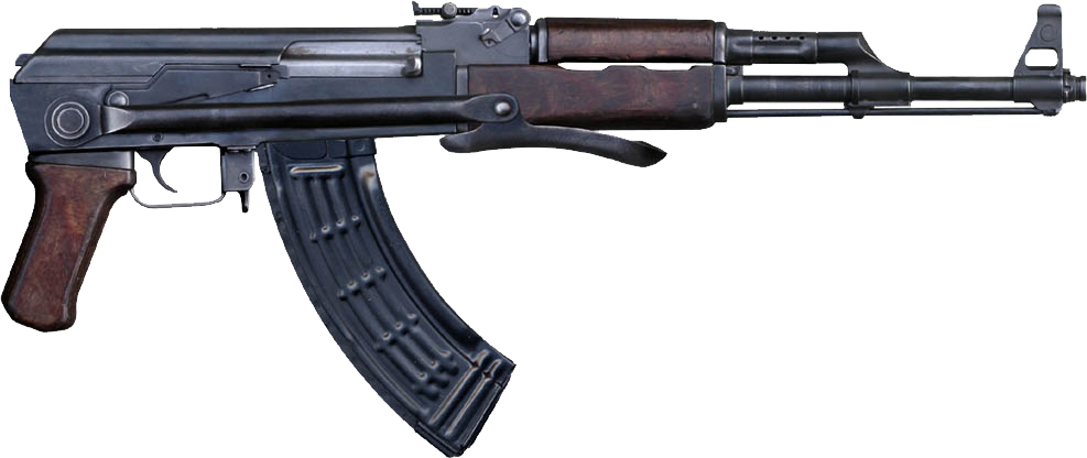 Ak png images free. Pistol clipart rifle