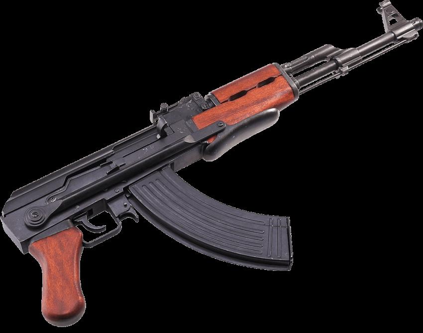 Gun clipart ak47. Ak machine png free