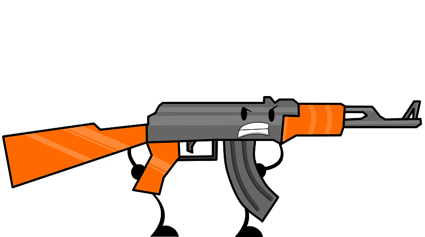 Image ak png object. Guns clipart ak47