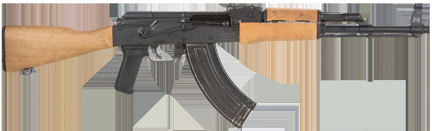 Hole clipart gun. Wooden ak png image