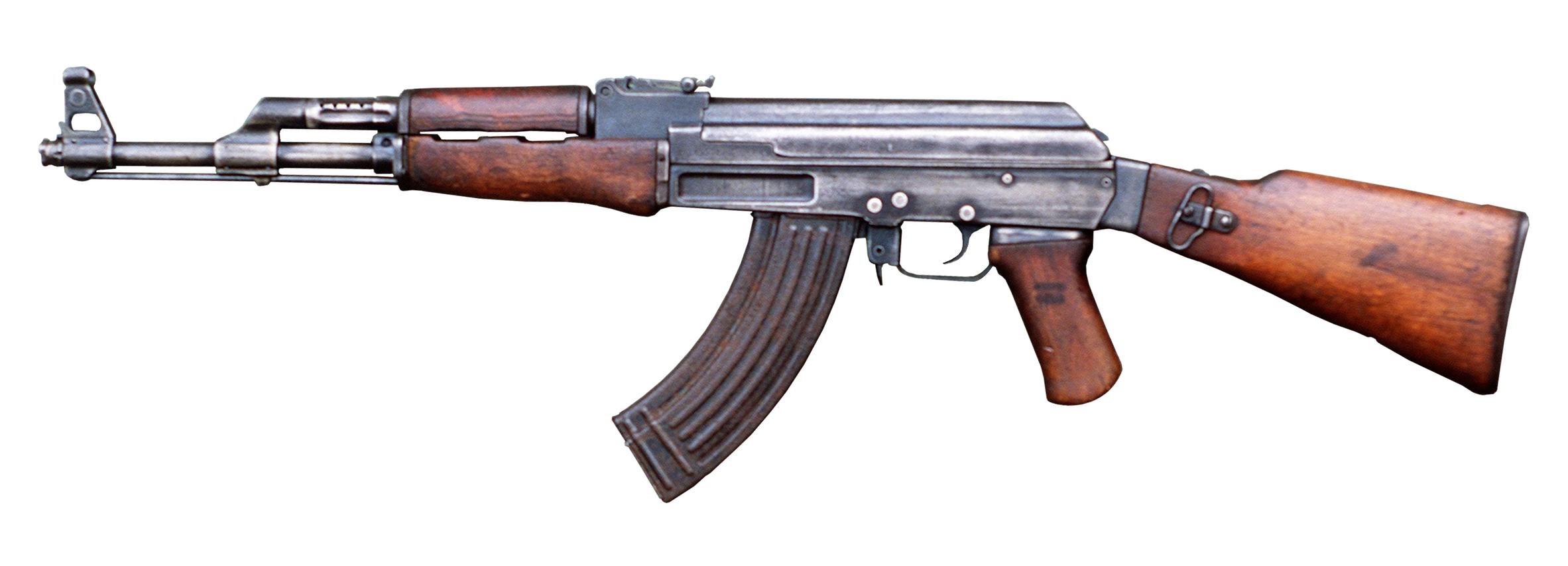 Guns clipart ww1 gun. Ak png weapon reference