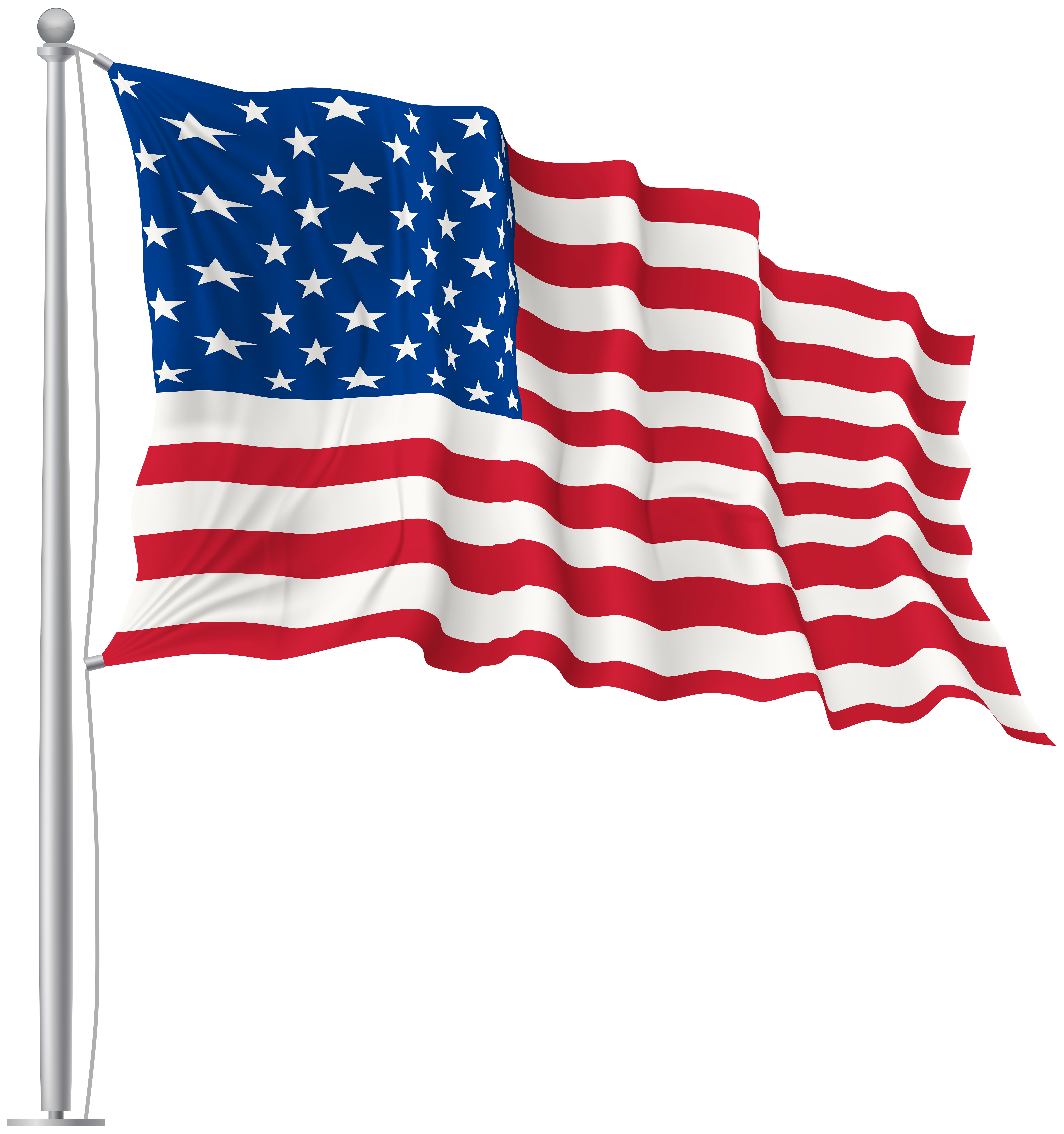 Usa waving png image. Markers clipart flag