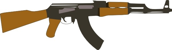 Clipart gun army gun. Free military rifle cliparts