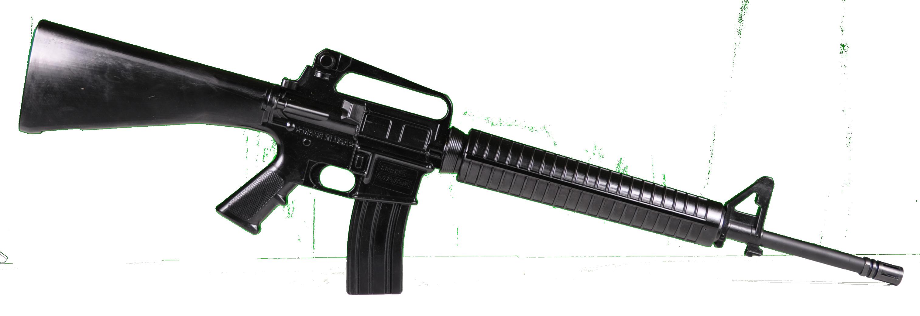 Black png image purepng. Clipart gun assault rifle