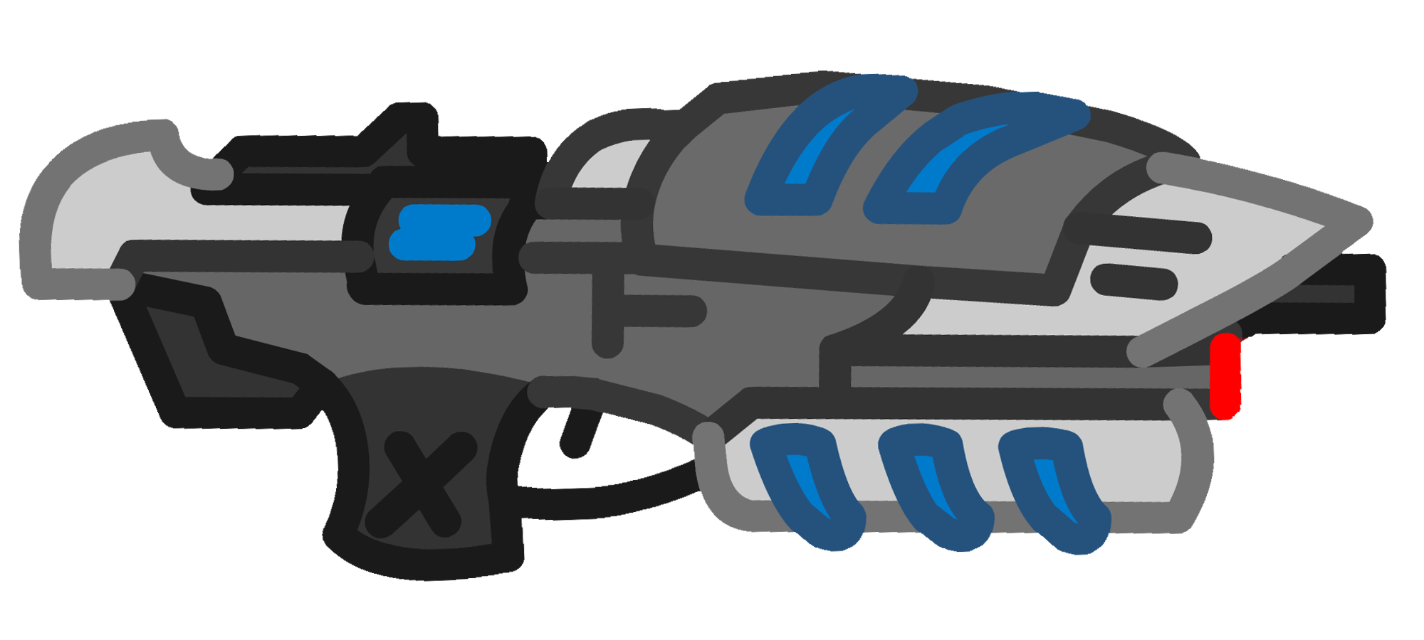 Clipart gun assault rifle. Image c r png