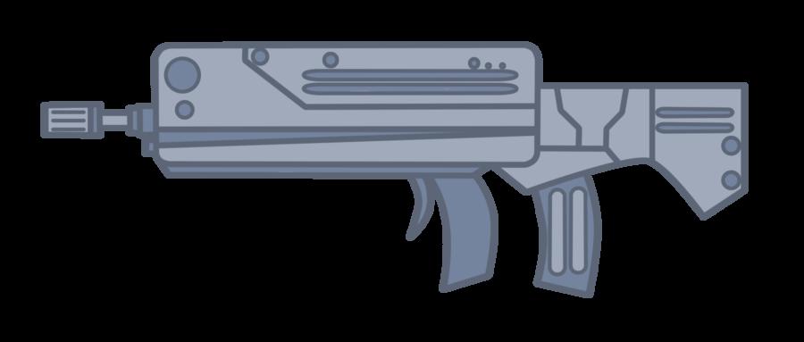 Clipart gun assault rifle. Resources weapons on mlp