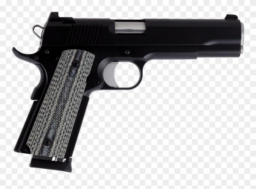 Clipart gun banner. Transparent pistols dan wesson