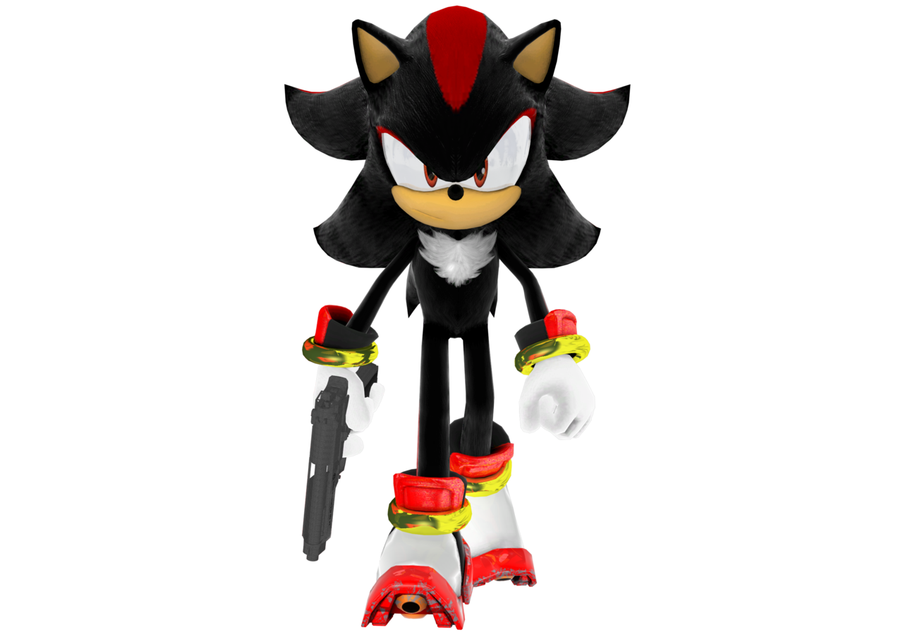 Clipart gun baril. Shadow the hedgehog with