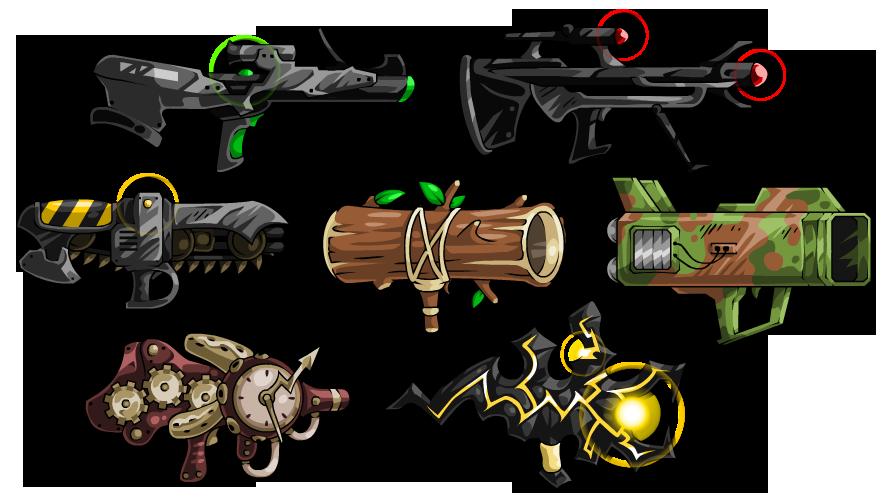 Clipart gun bazooka. Ebf guns by kupogames