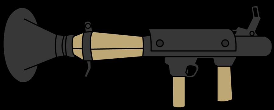 collection of rocket. Guns clipart bazooka