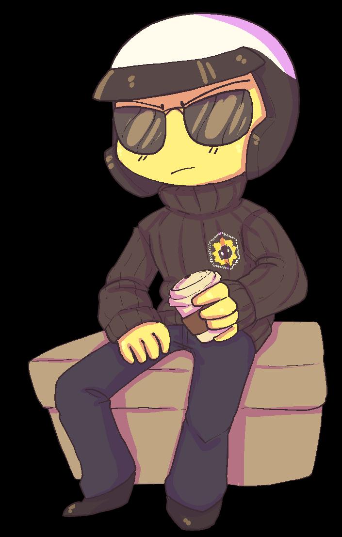 Guns clipart bazooka. Sweater cop by kat