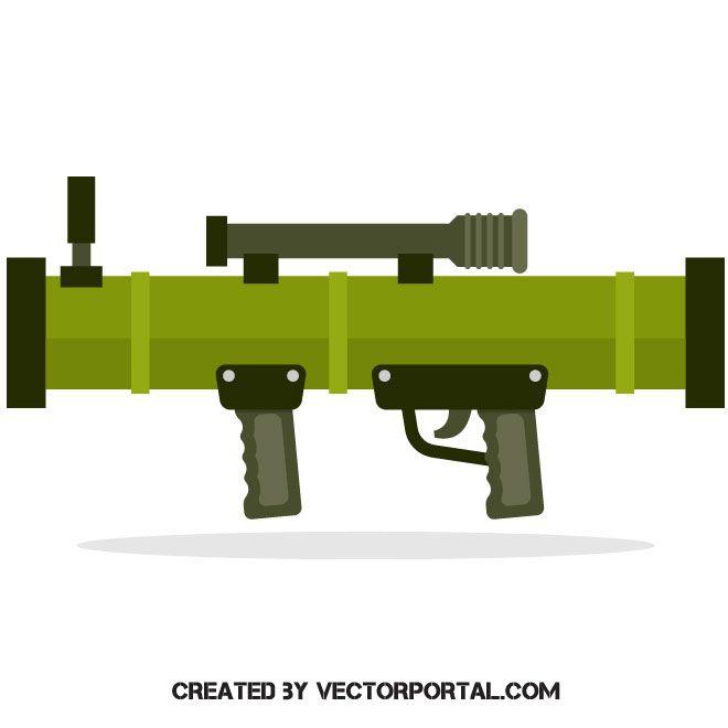 Guns clipart bazooka. Pin on military and