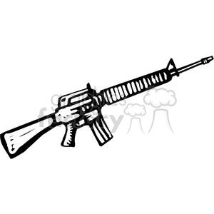 Machine m royalty free. Clipart gun black and white