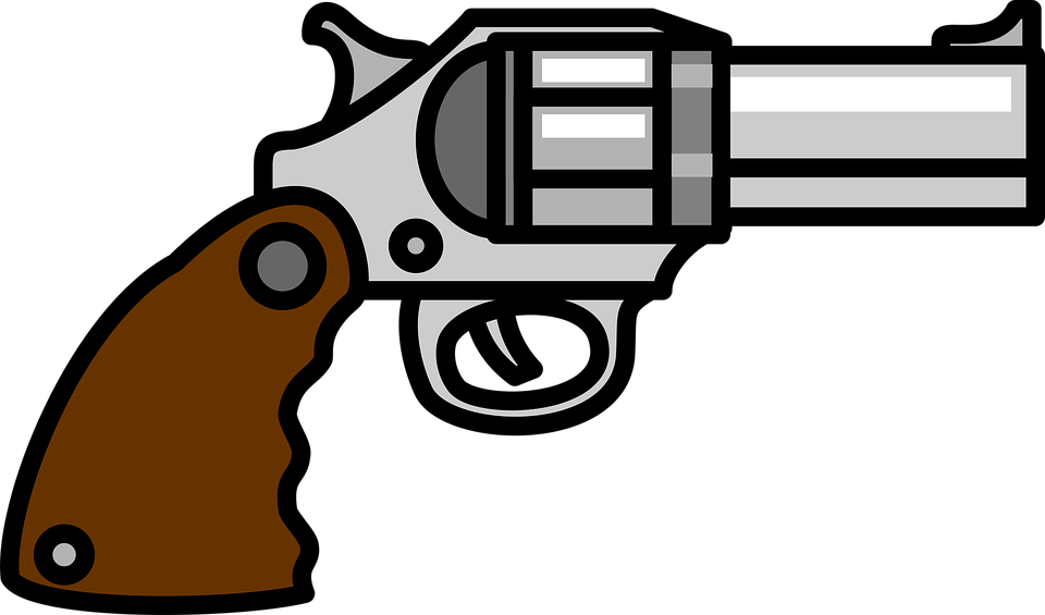 Pistol clipart gun holster. Free photo weapon revolver