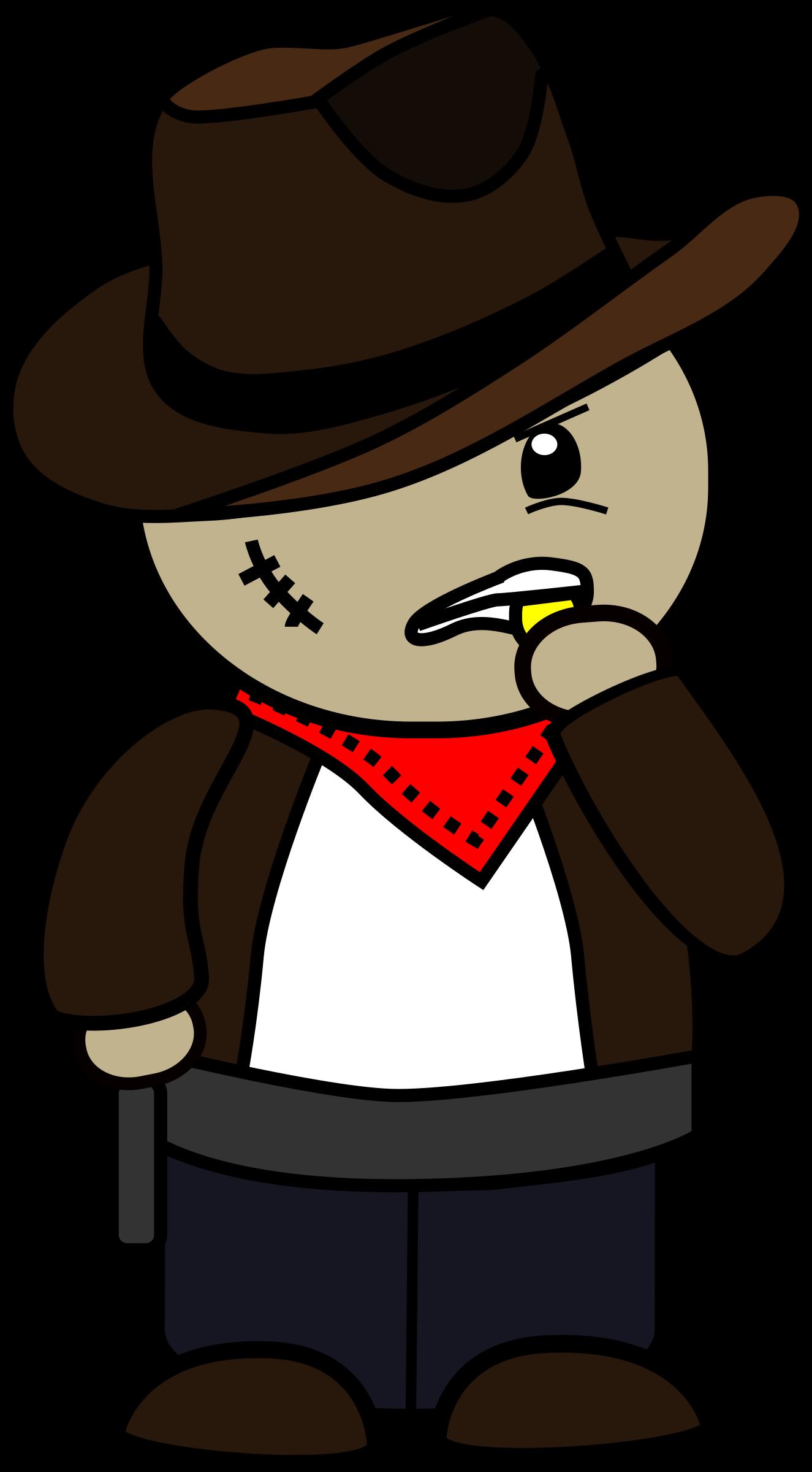 cartoon with. Gun clipart cowboy
