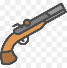 Cartoon png transparent images. Clipart gun cute