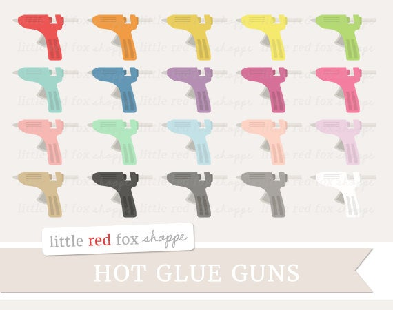 Clipart gun cute. Glue crafting clip art