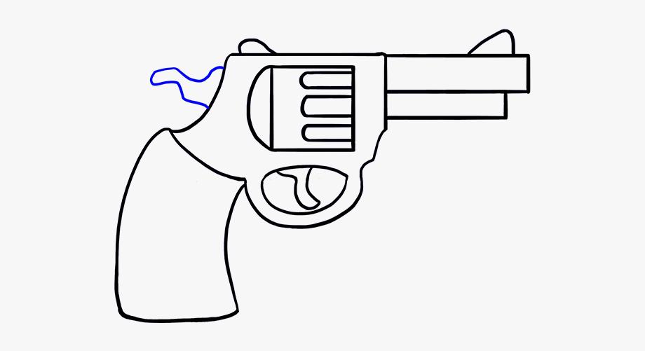 Clipart gun easy. Cowboy to draw free