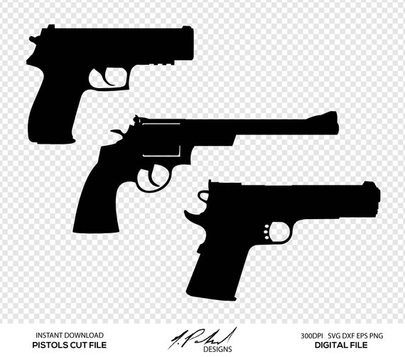 Pin on products . Clipart gun file