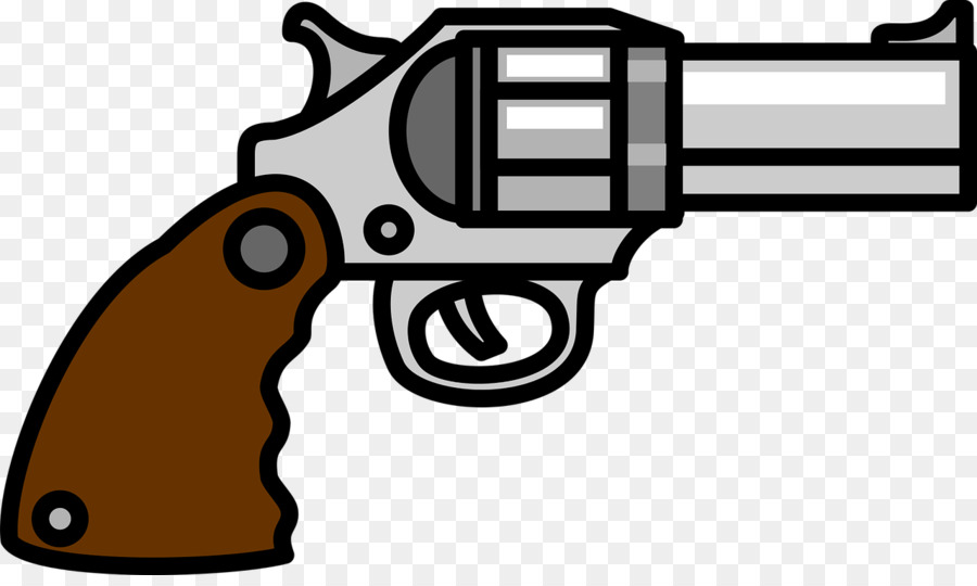 Clipart gun firearm. Cartoon background font transparent