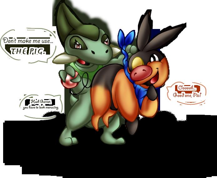 Pokemon tepig by shrewdberry. Clipart gun flamethrower