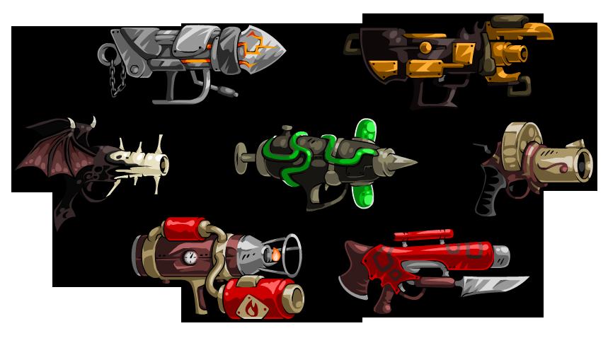 Clipart gun flamethrower. Ebf guns by kupogames