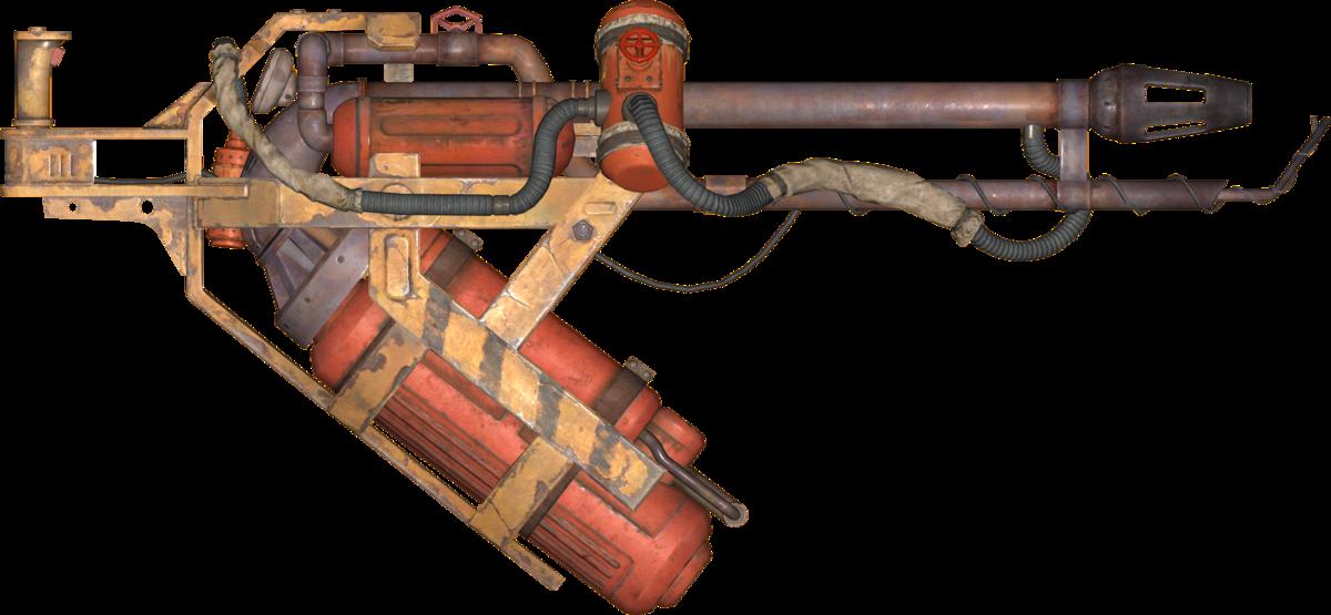 Clipart gun flamethrower. Flamer fallout the vault
