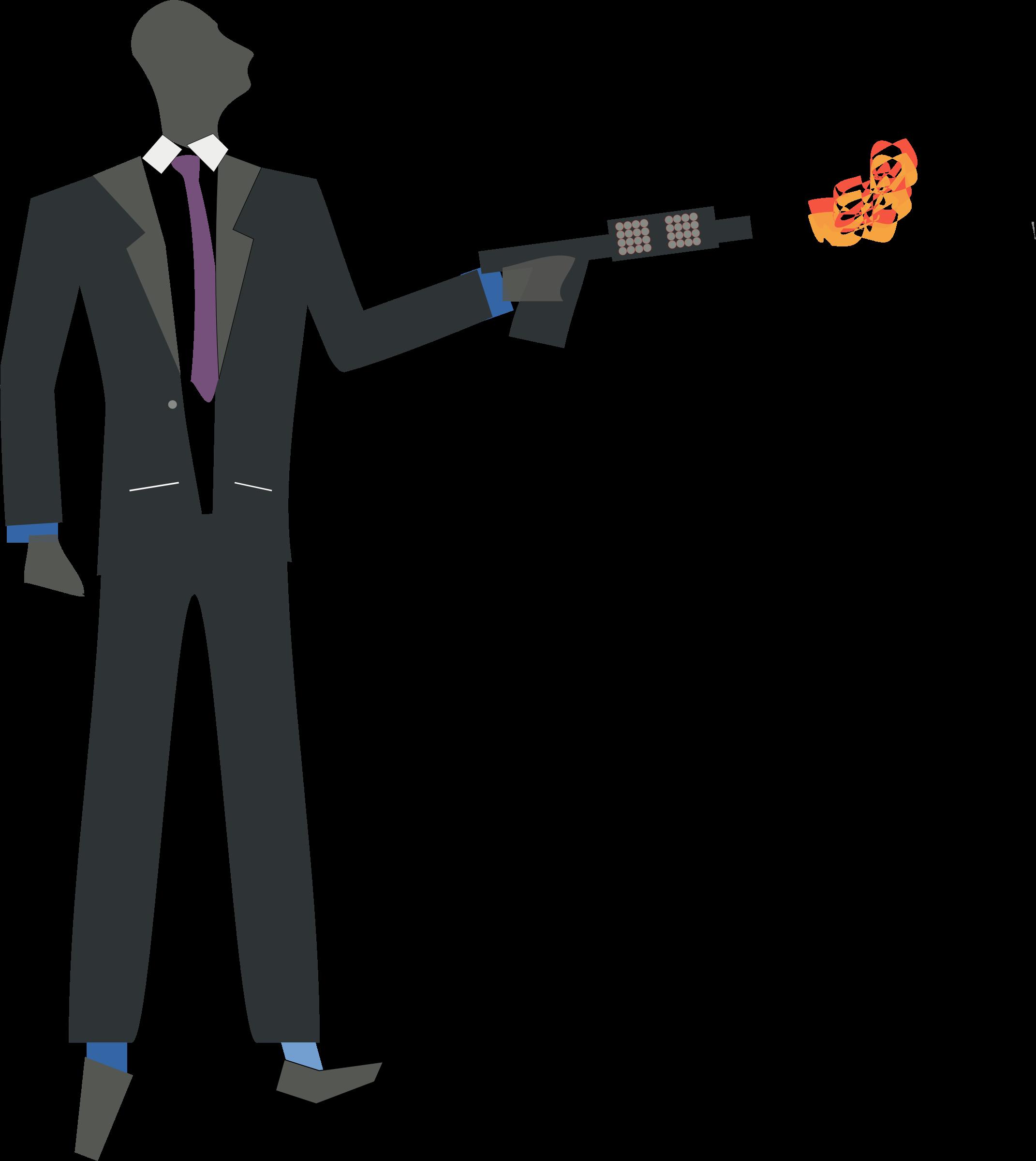 Clipart gun flamethrower. Oxidation torch big image