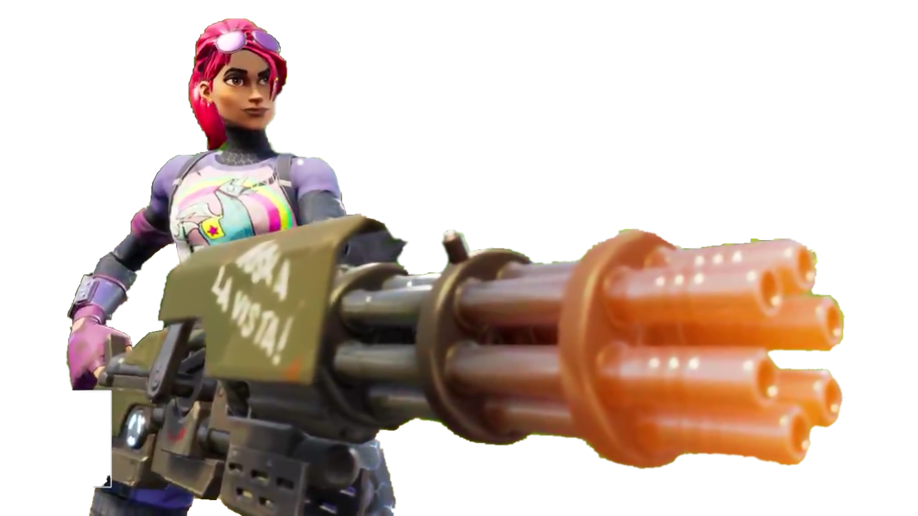 Freetoedit minigun update battleroyale. Clipart gun fortnite