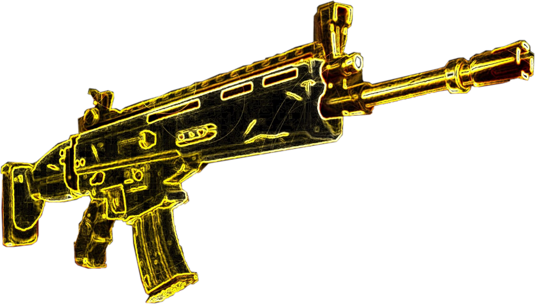 Fortnitebattleroyale top scar freetoedit. Clipart gun fortnite