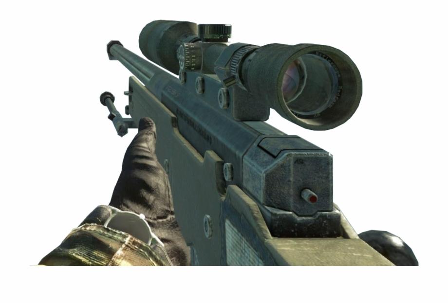 Bo sniper youtube png. Clipart gun fps