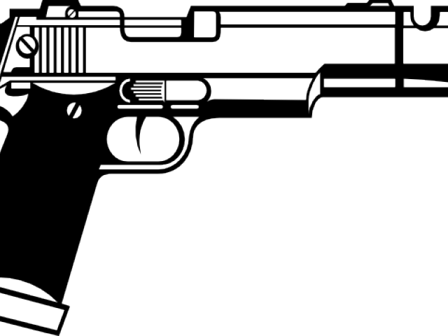 Free double download clip. Pistol clipart baril