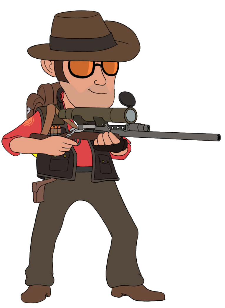 Clipart gun green. Chibi sniper snipin s