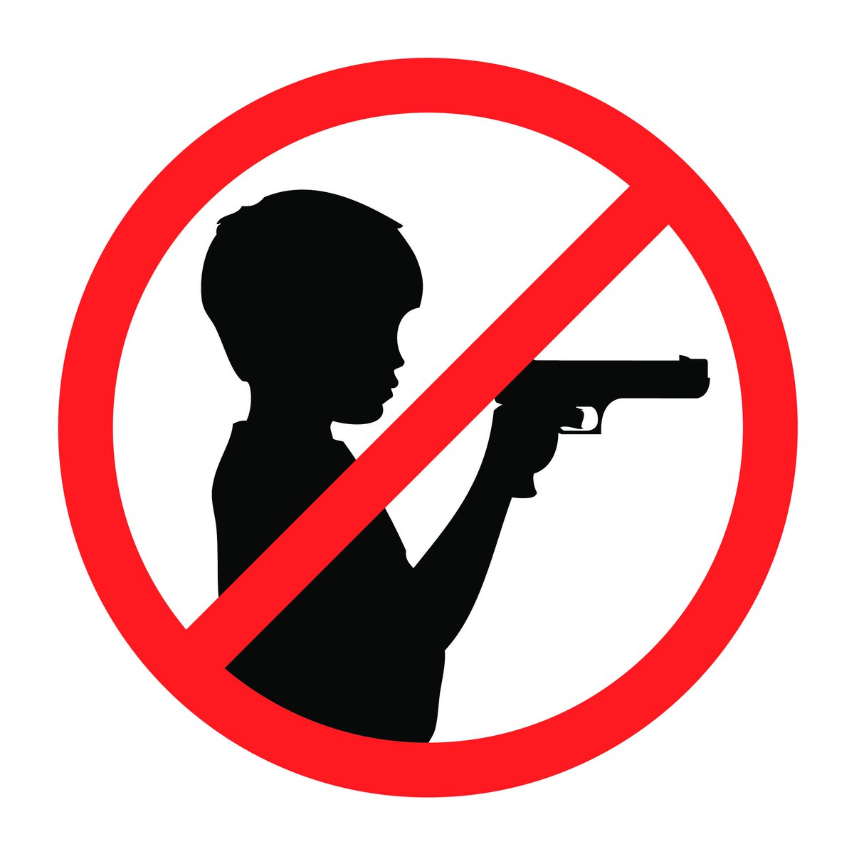 Delaware county so on. Clipart gun gun safety