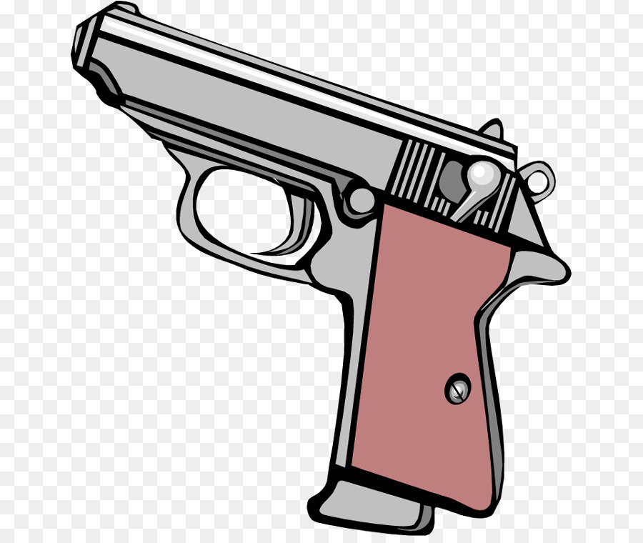 Firearm handgun clip art. Clipart gun gun safety