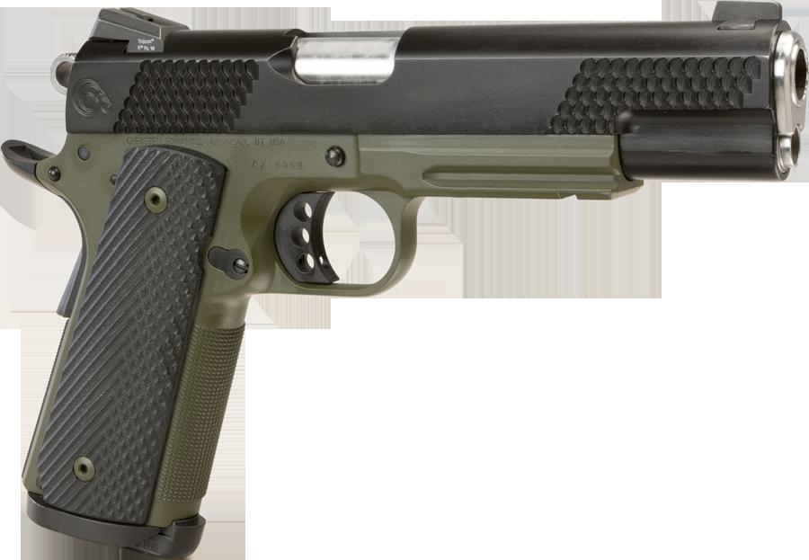 Pistol thirty one isolated. Hole clipart shotgun