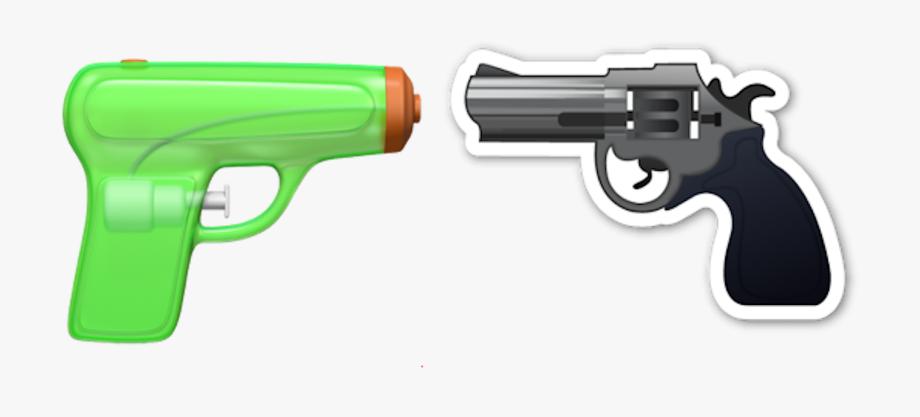 Clipart gun gun violence. Pistol emoji png transparent