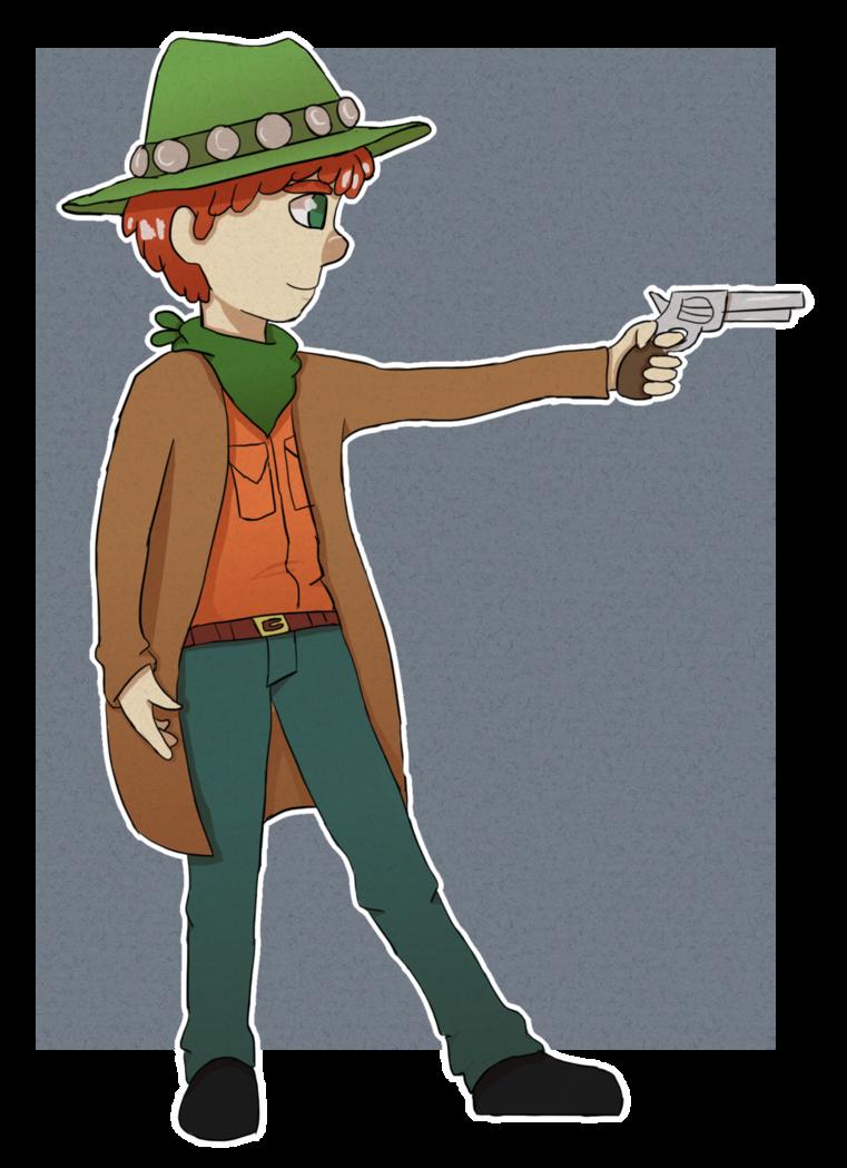 Kyle by tacosandfaygo on. Clipart gun gunslinger